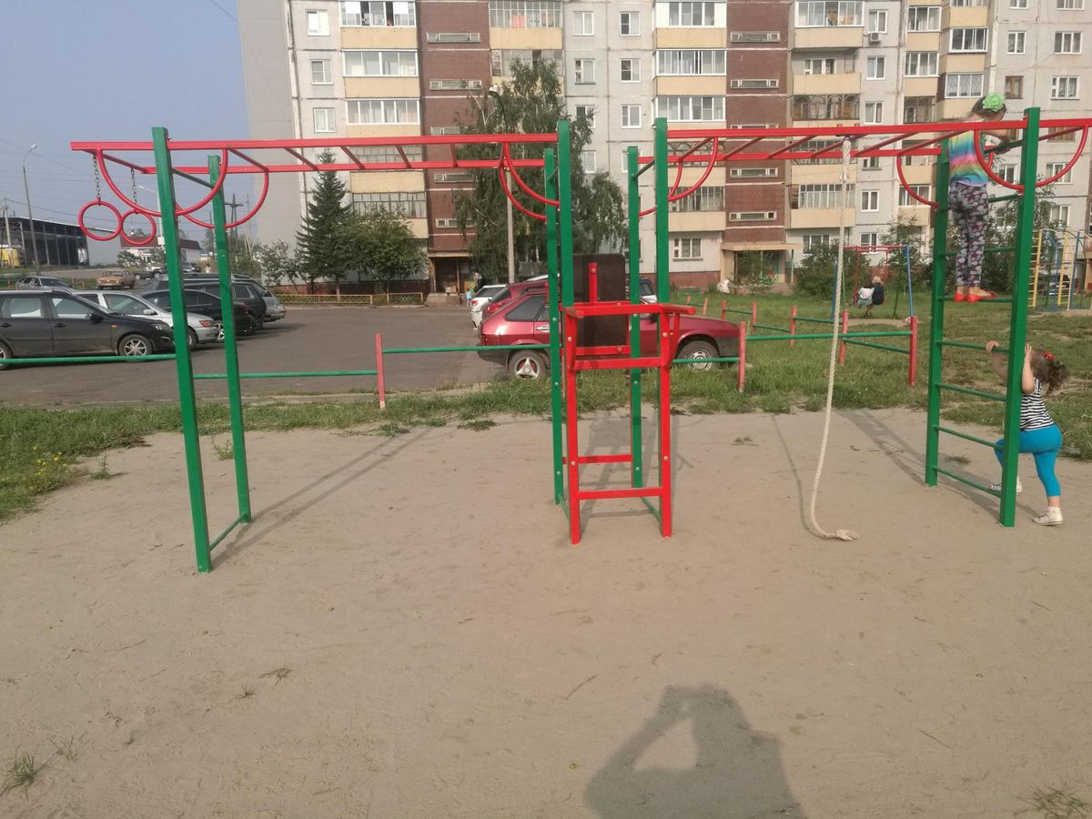 Bratsk - Fitness Park - Поликлиника ОГБУЗ Городская Больница №2