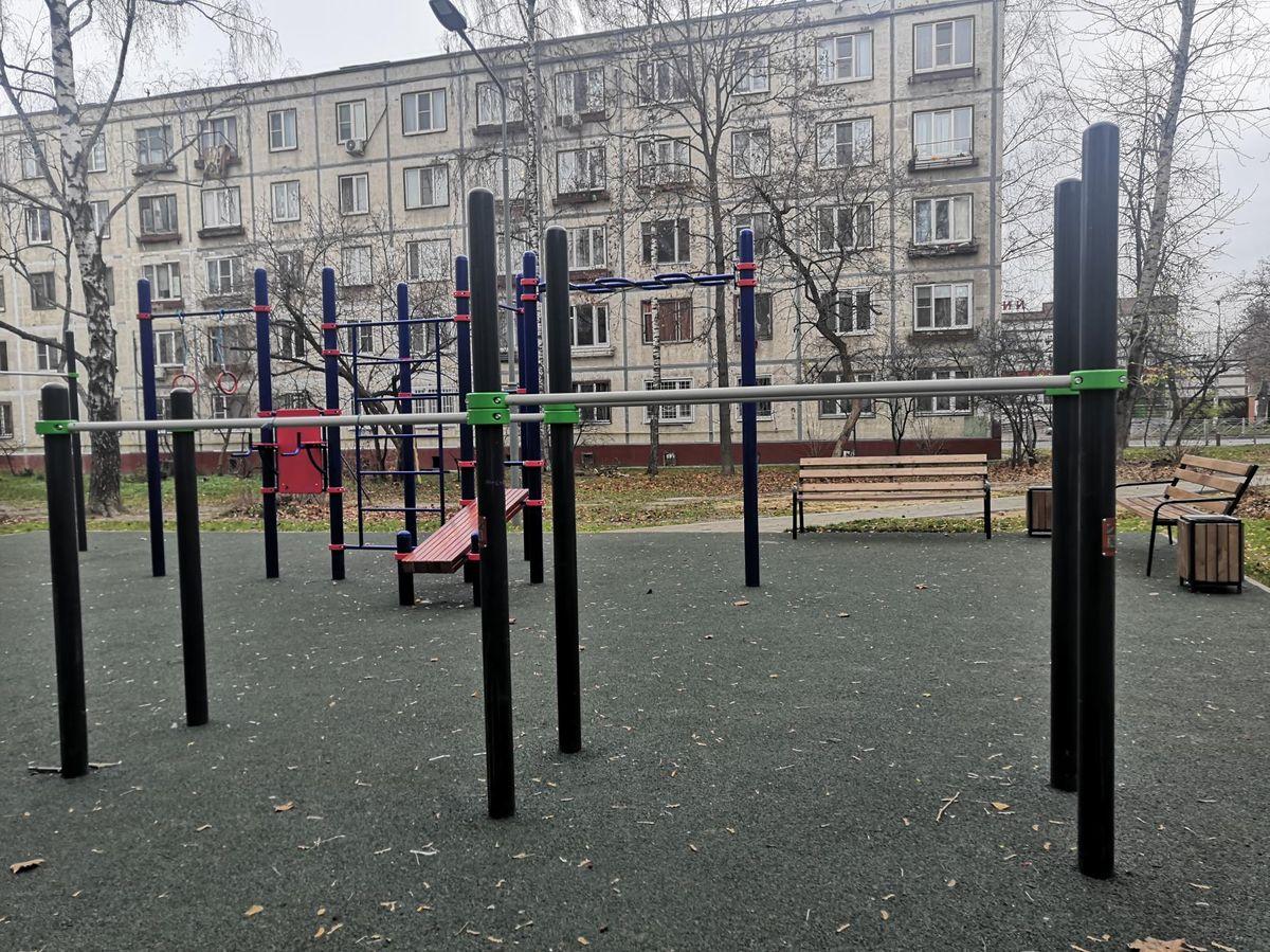 Balashikha - Street Workout Park - Пр-Кт Ленина