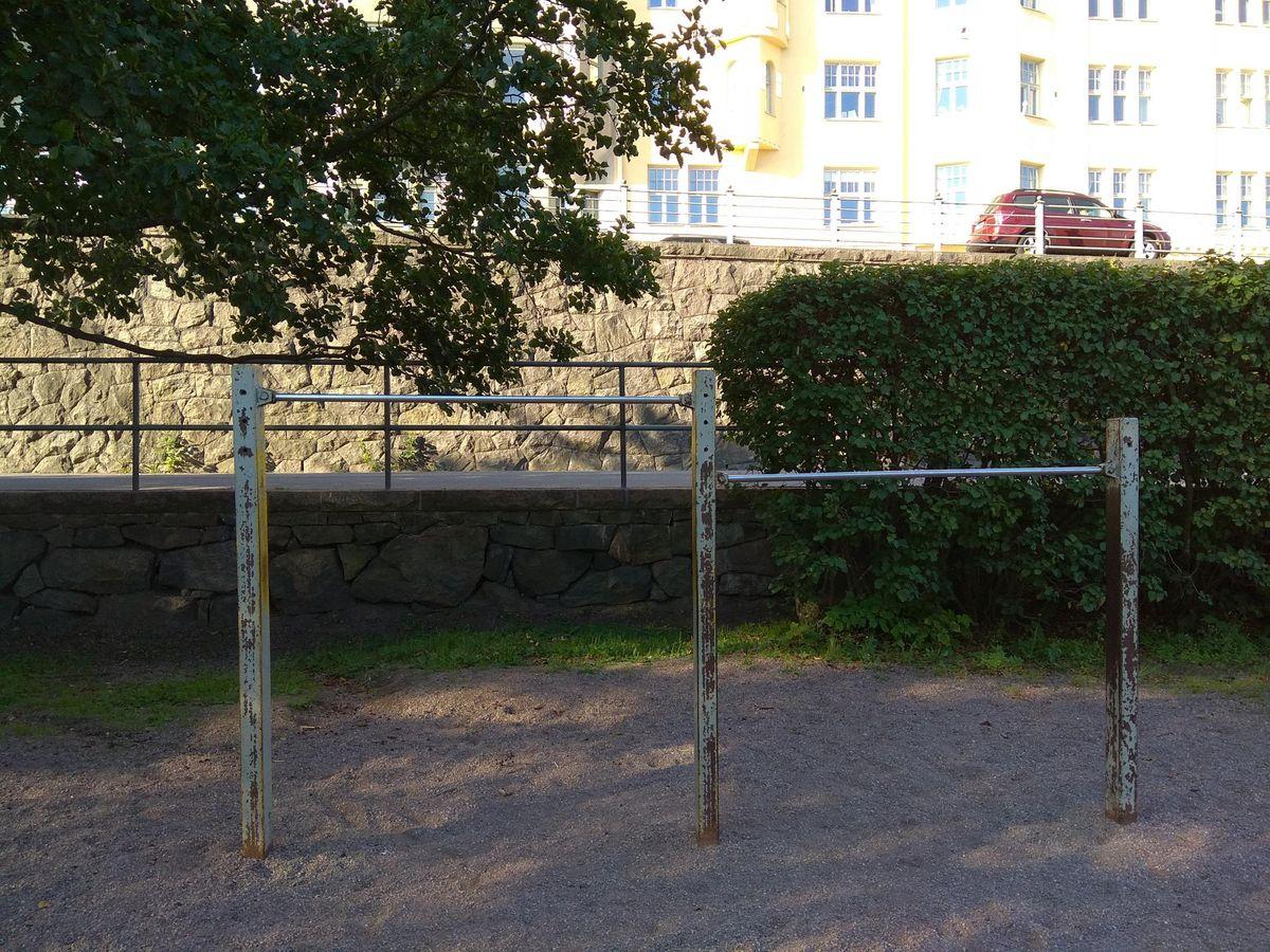 Helsinki - Outdoor Gym - Laivastokatu