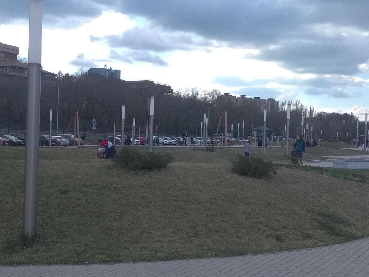 Volgograd - Street Workout Park - Исторический Парк  Россия - Моя История