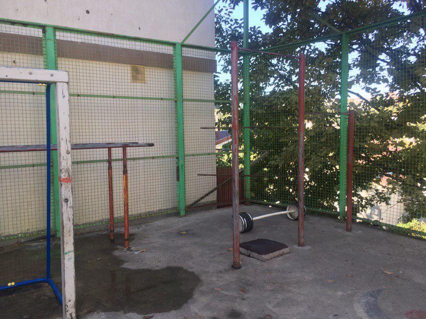 Sochi - Street Workout Park - ЖК Рио