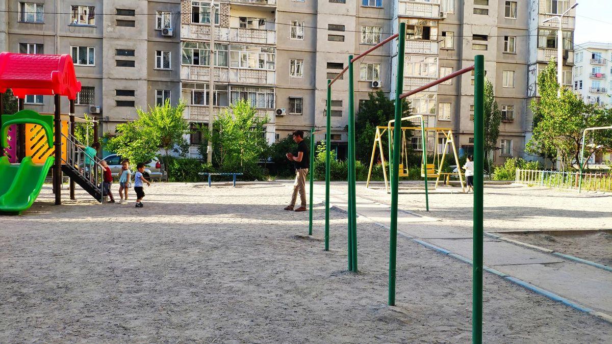 Bishkek - Street Workout Park - СТО Вернисаж