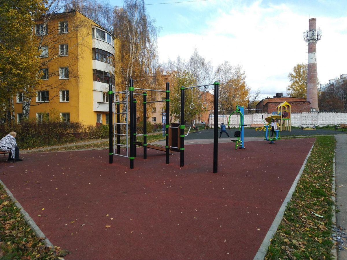 Dolgoprudny - Street Workout Park - Туп Гранитный