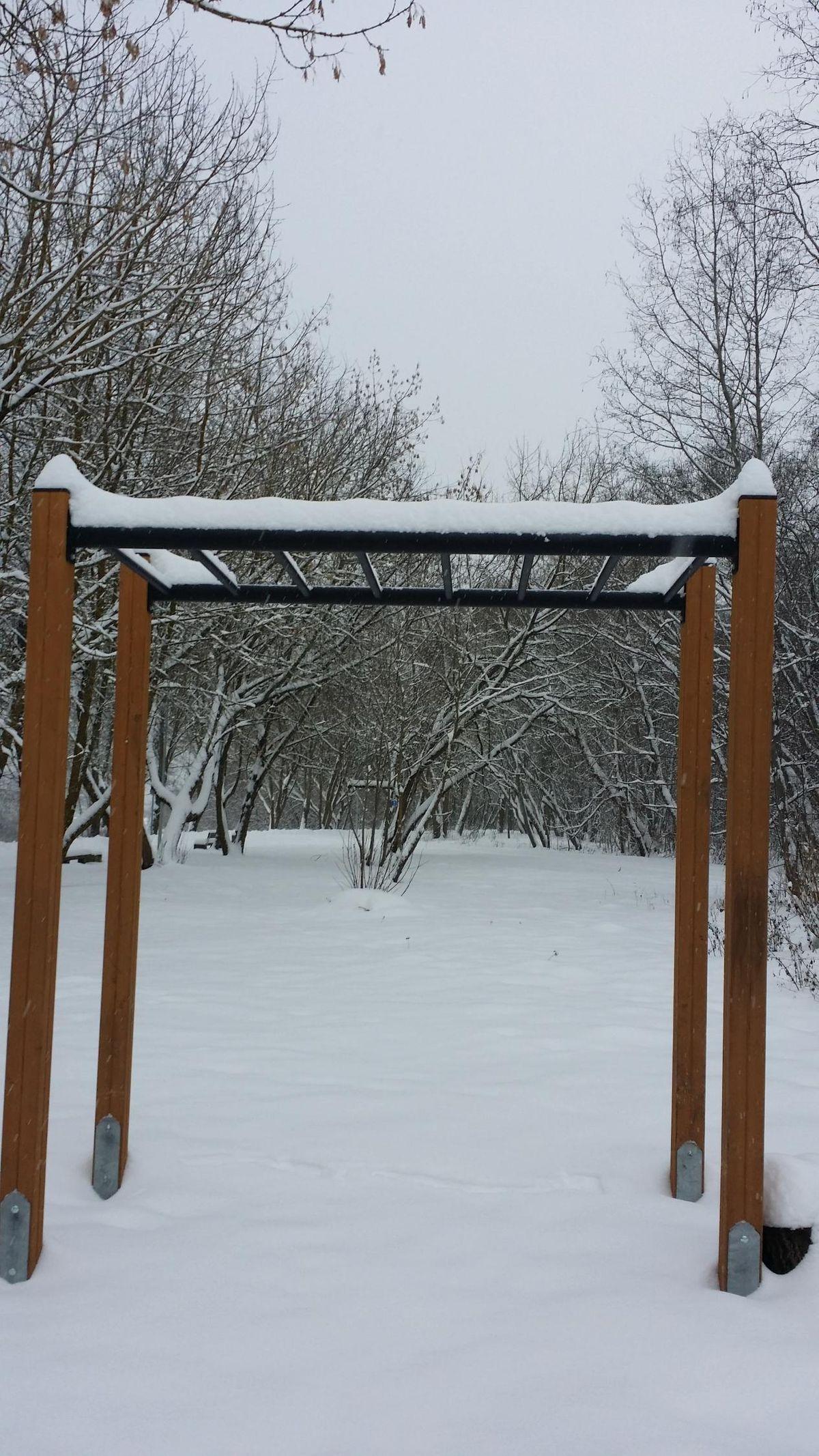 Sillamäe - Aire de Fitness - Männikute Tee