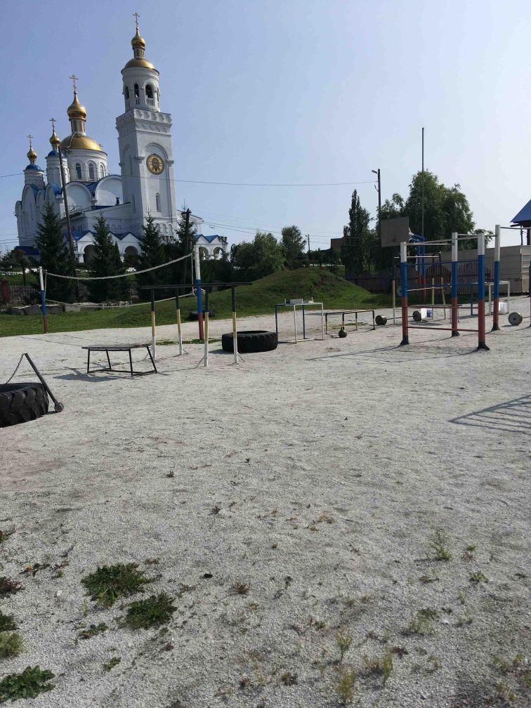 Chebarkul - Outdoor Gym - Церковь Спаса Преображения