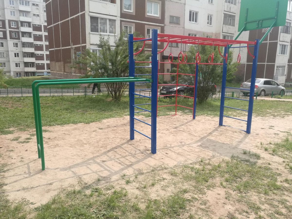 Bratsk - Calisthenics Gym - Падунские Пороги