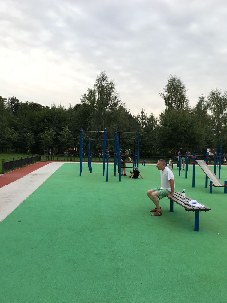 Barvikhinskoe - Outdoor Gym - Универсам Десятка