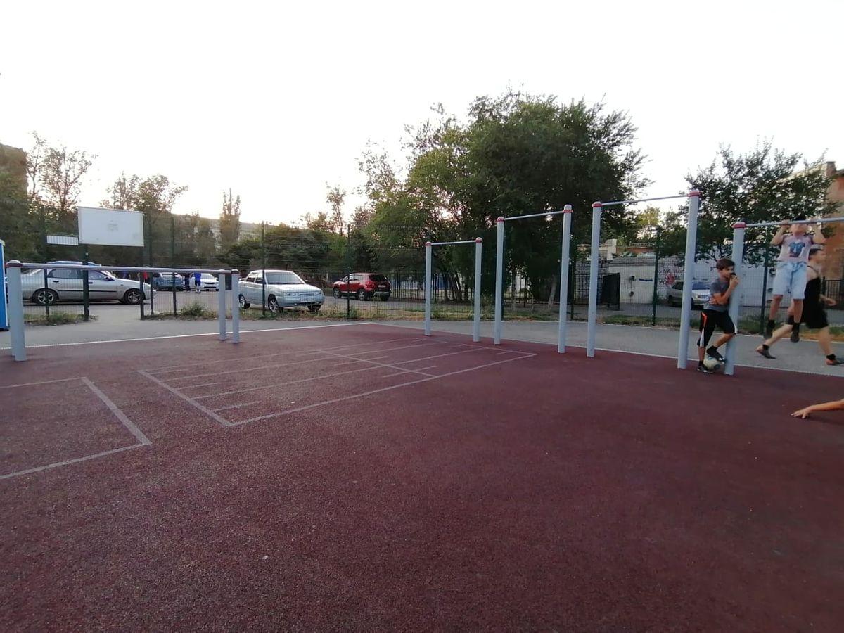 Astrakhan - Outdoor Gym - GSNV-Lab
