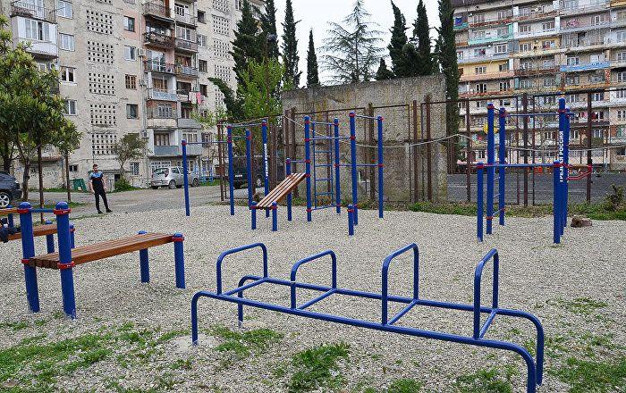 Georgia - Outdoor Gym - Abkhazia