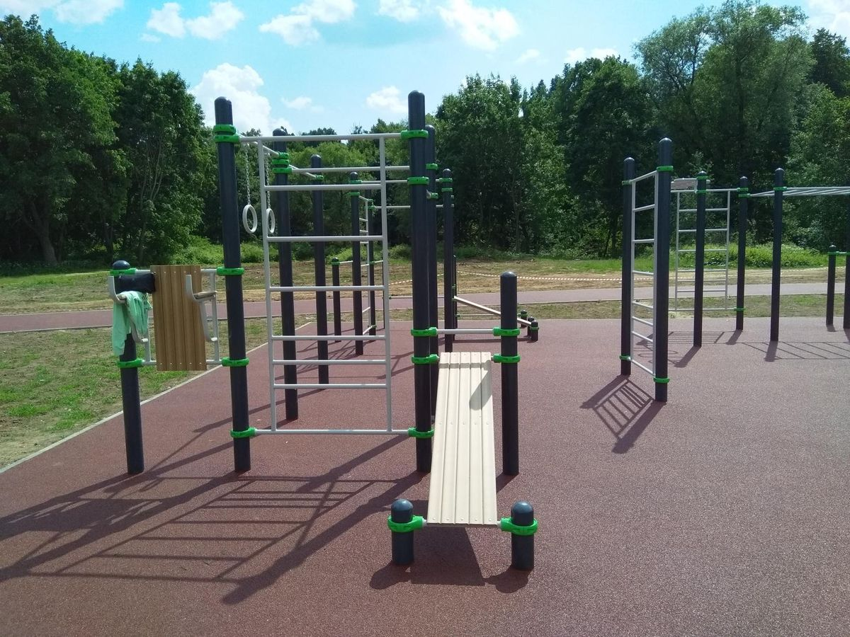 Lotoshino - Street Workout Park - Ул Заречная