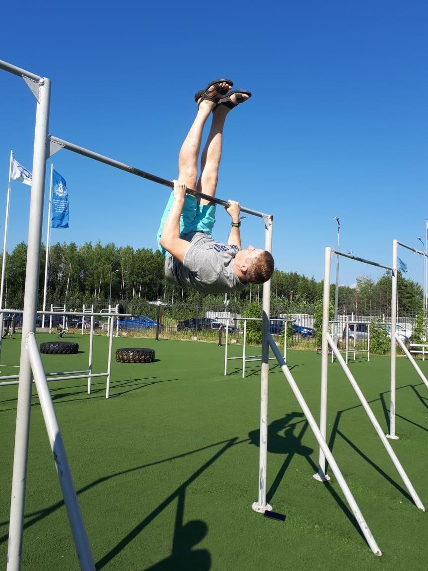 Khanty-Mansiysk - Street Workout Park - Ул Студенческая