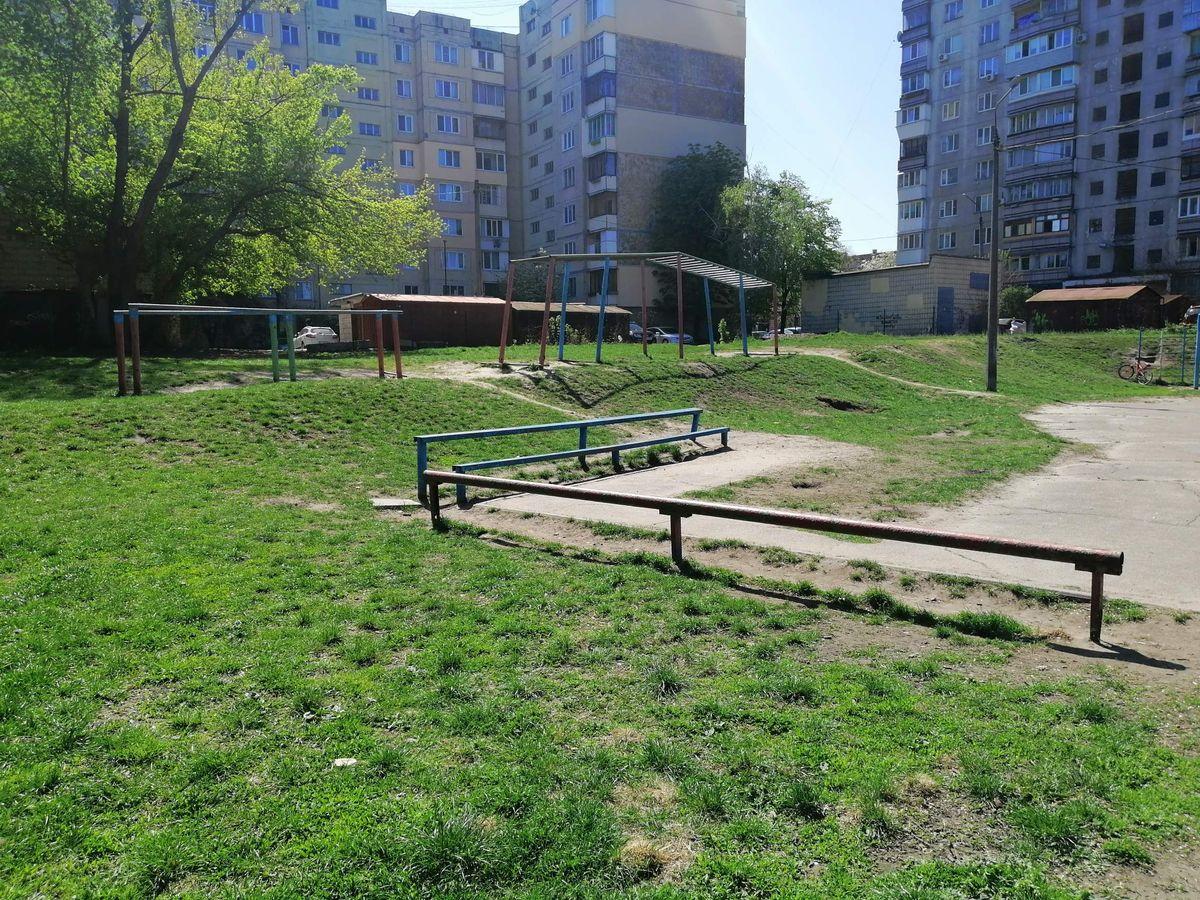 Kyiv - Calisthenics Park - Бурбон