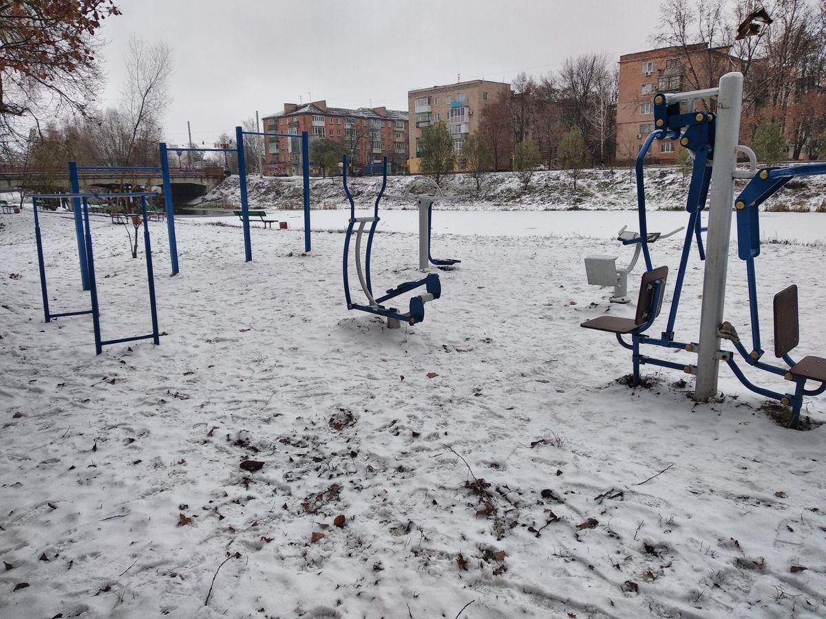 Chernihiv - Calisthenics Park - Школа №2