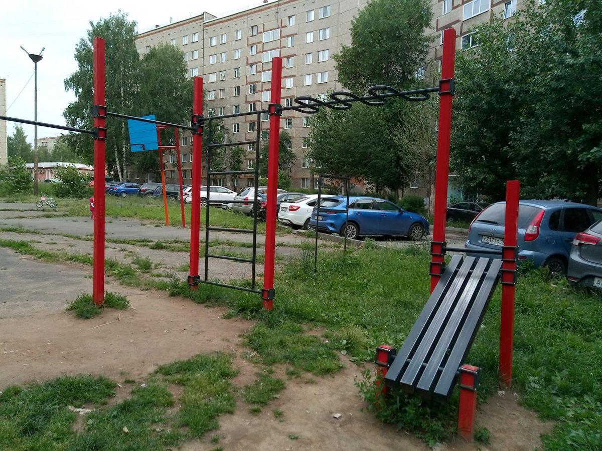 Izhevsk - Calisthenics Park - Гарри