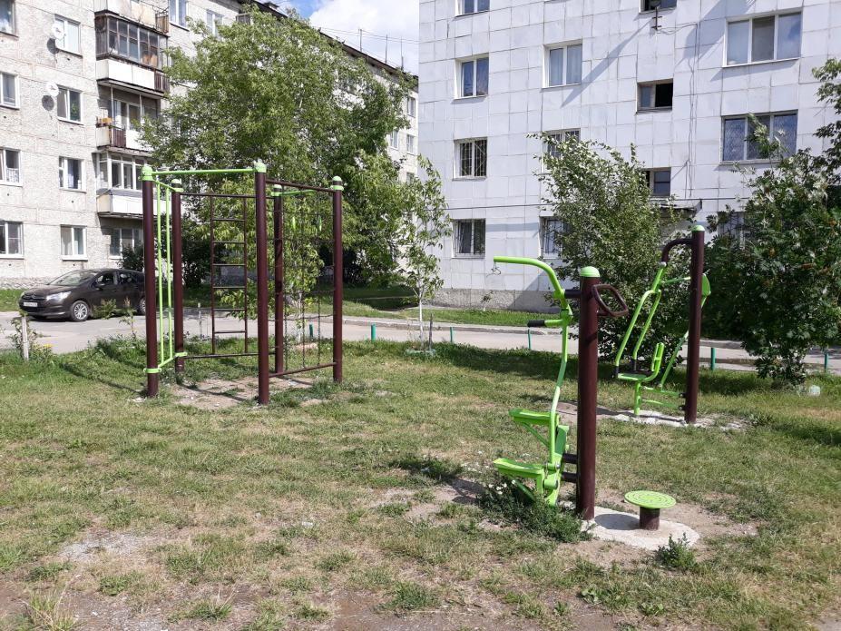 Verkhnyaya Pyshma - Fitness Park - Склад ТиМ