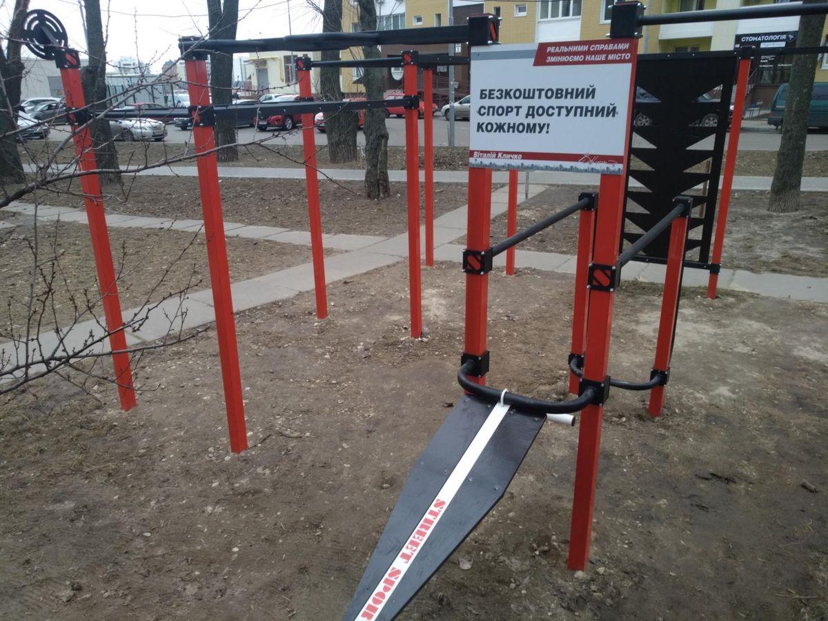 Kyiv - Street Workout Park - Сергія Данченко 5