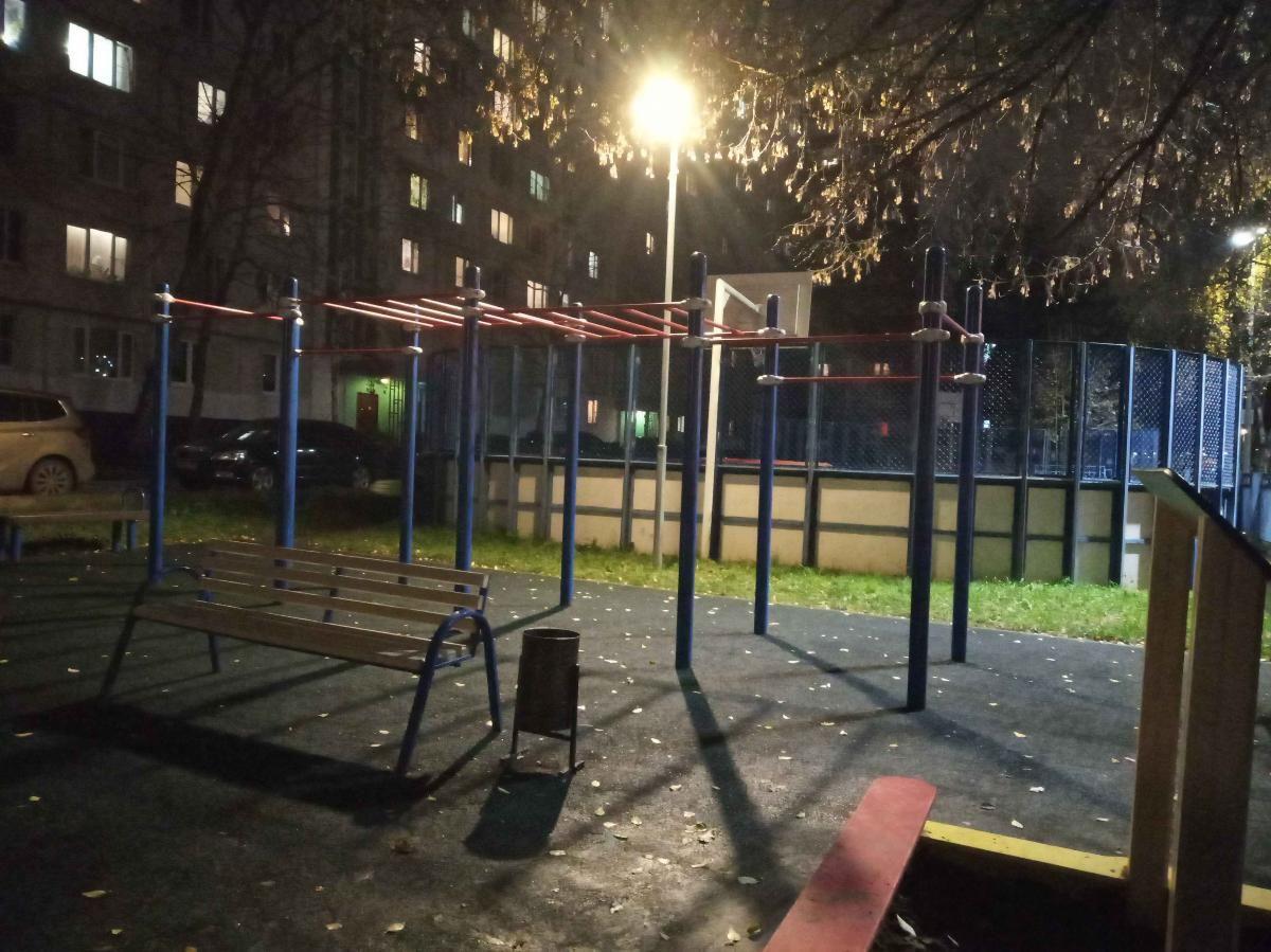 Moscow - Street Workout Park - Ул Костромская