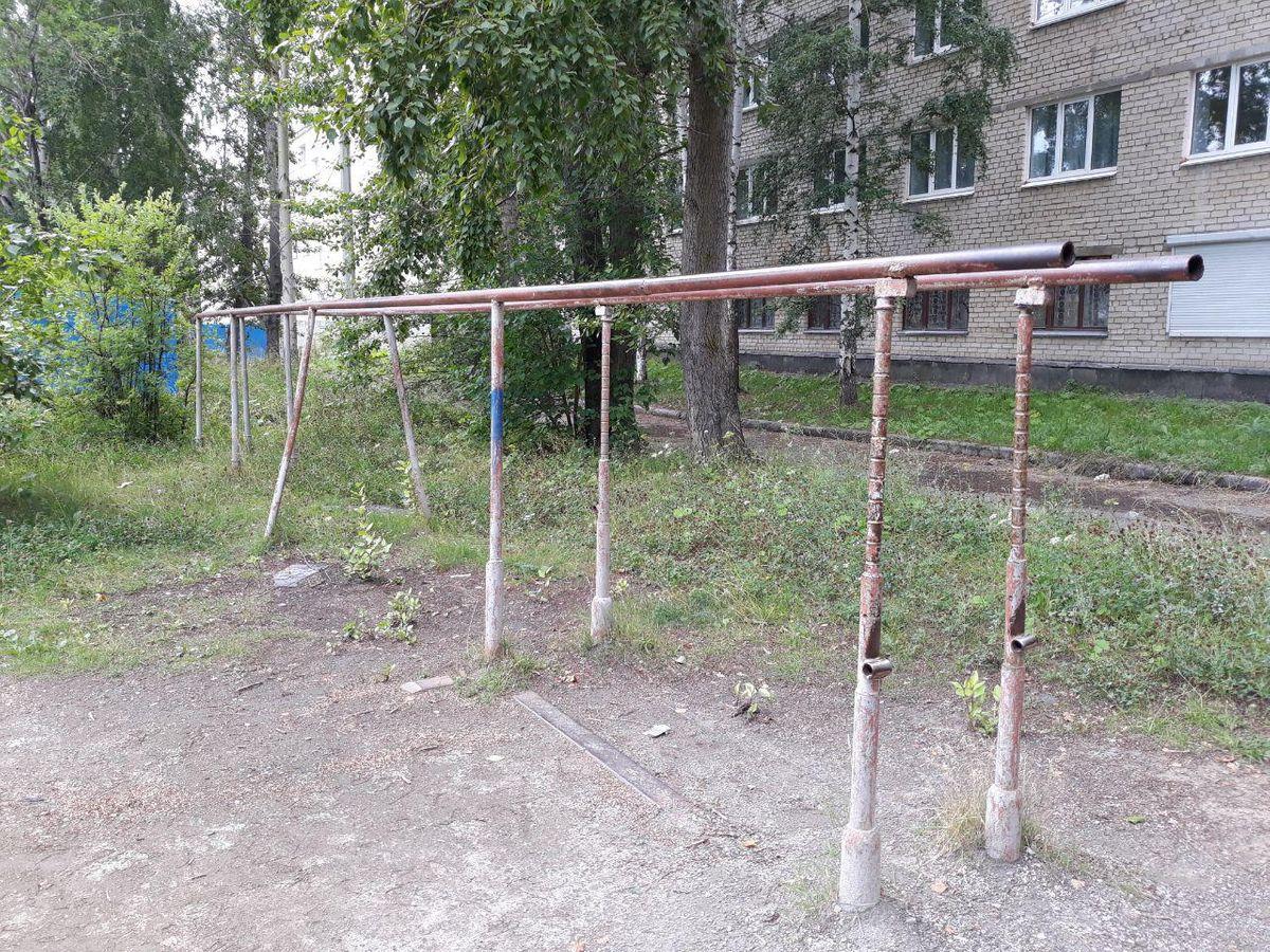 Verkhnyaya Pyshma - Street Workout Park - Школа #2