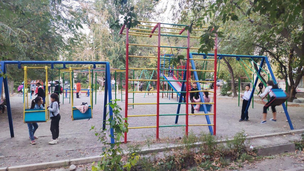 Bishkek - Street Workout Park - Кафе Одиннадцатый - 11
