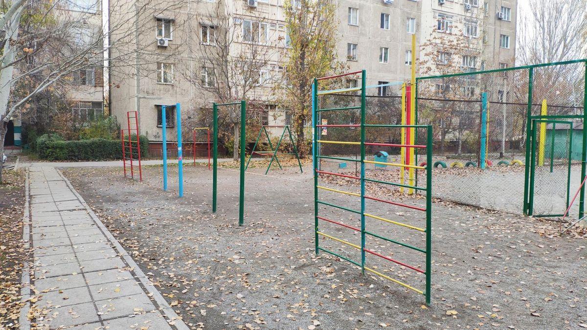 Bishkek - Outdoor Gym - Базарчик Асанбай