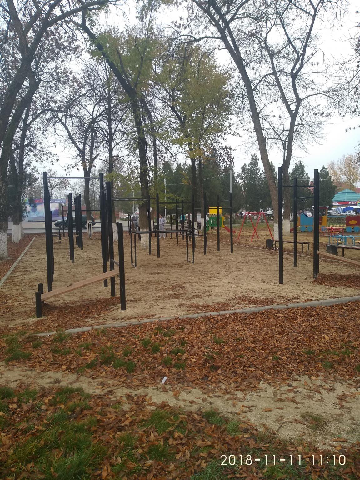 Akhtyrskoe - Street Workout Park - Улица Свободы