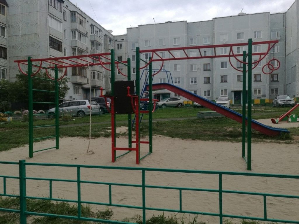 Bratsk - Street Workout Park - ТЦ Москва
