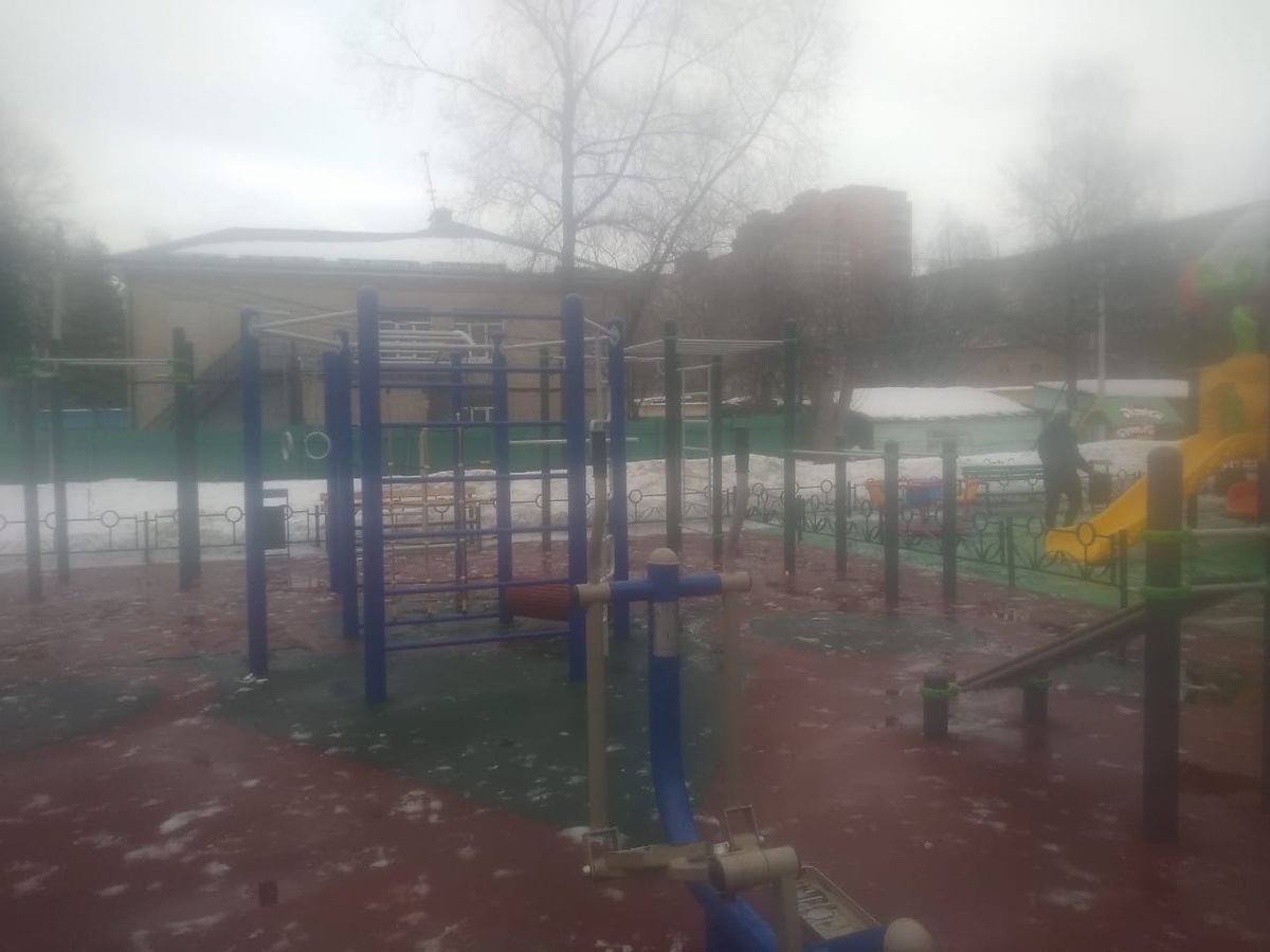 Pavlovsky Posad - Street Workout Park - Ул Тихонова