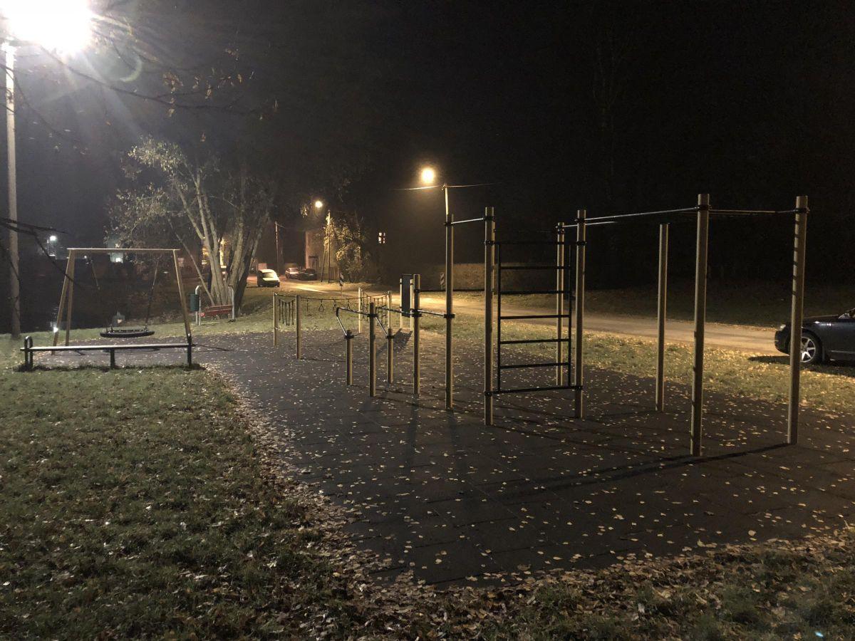Tartu - Street Workout Park - Peetri Tänav