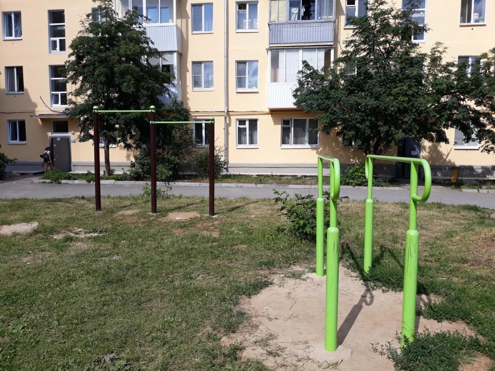 Verkhnyaya Pyshma - Calisthenics Park - Верхнепышминская Стоматологическая Поликлиника