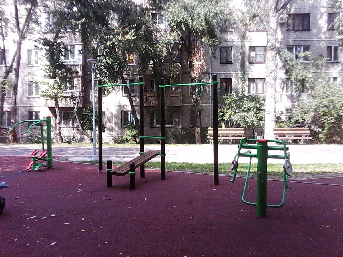 Kazakhstan - Fitness Park - Almaty