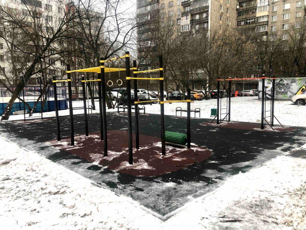 Moscow - Street Workout Park - Ботаническая Улица