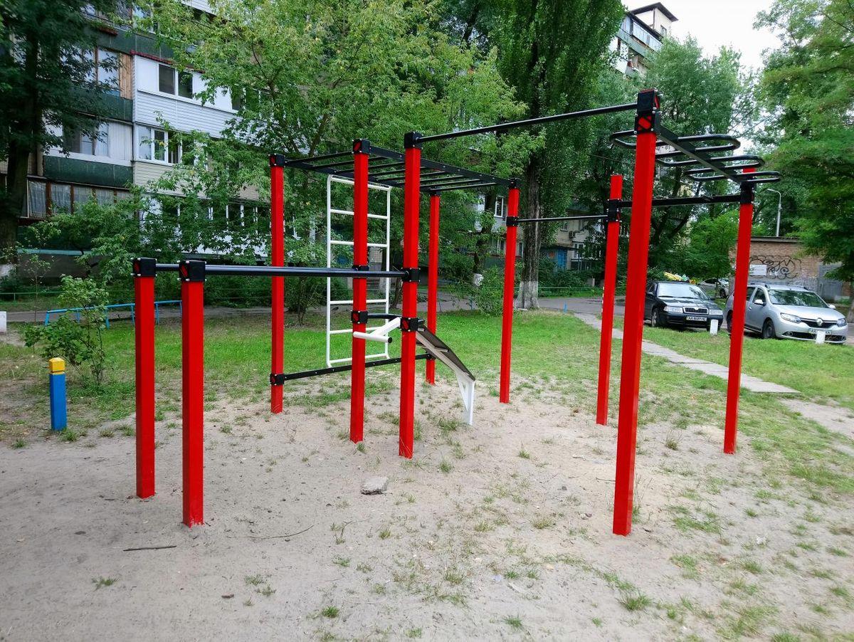 Kyiv - Street Workout Park - Хлебный