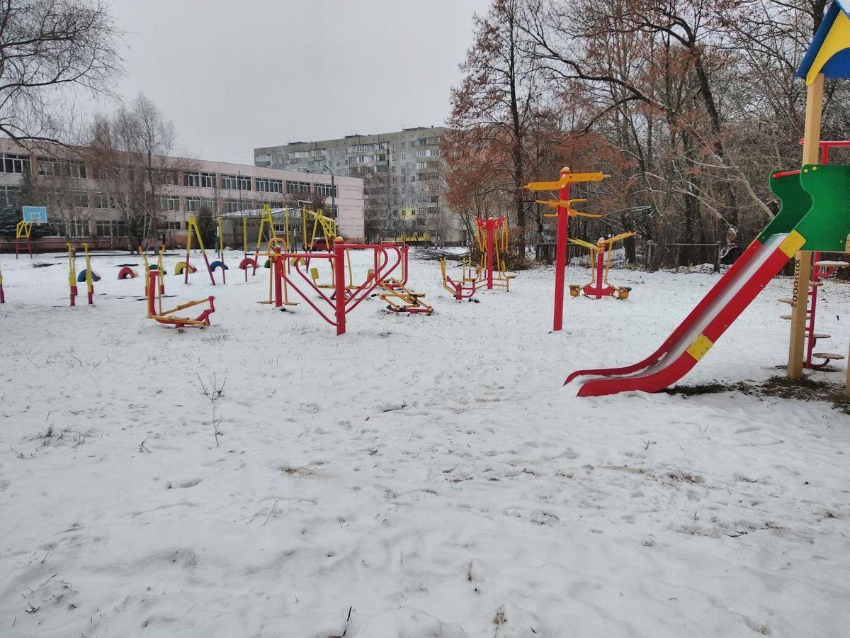 Chernihiv - Street Workout Park - Школа №2