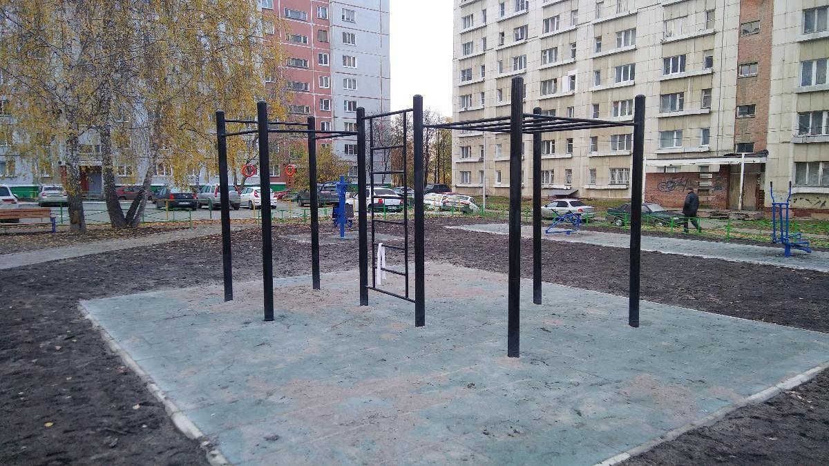Ozersky - Calisthenics Park - Столовая № 10 (филиал)