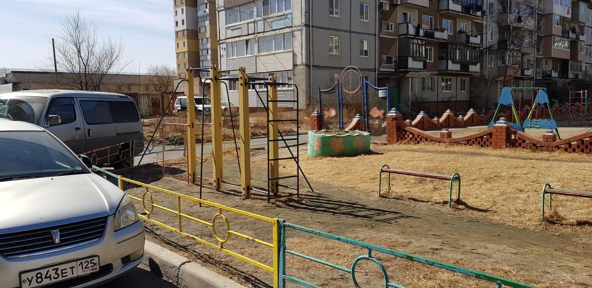 Nakhodkinsky - Outdoor Gym - Ароса
