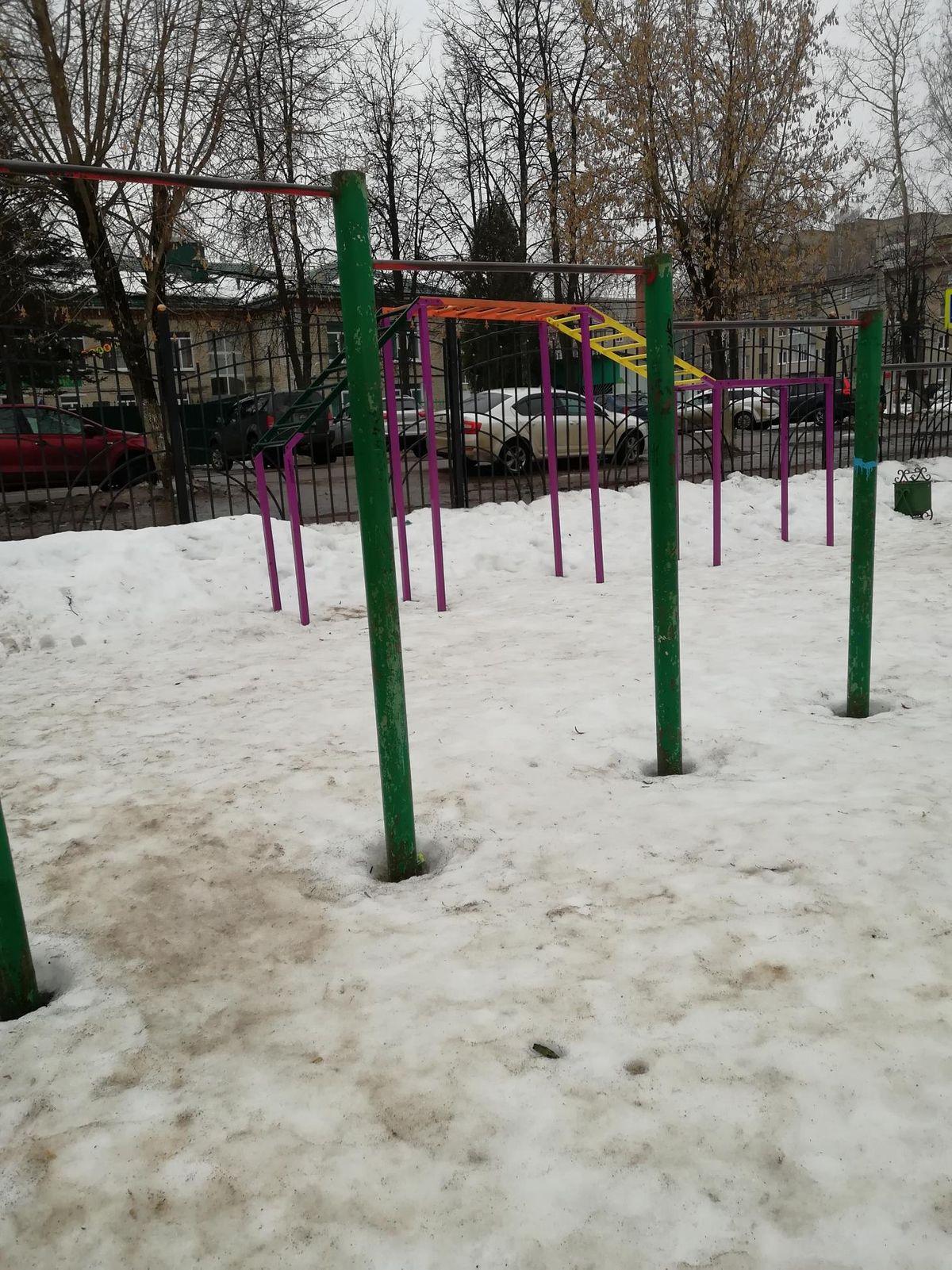 Pavlovsky Posad - Outdoor Gym - Улица Володарского
