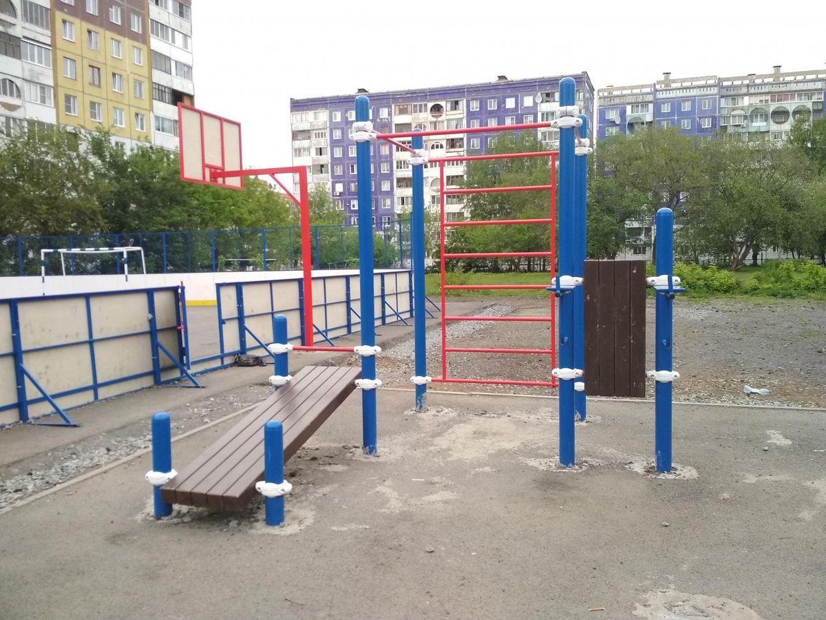 Kemerovo - Outdoor Gym - Школа №92