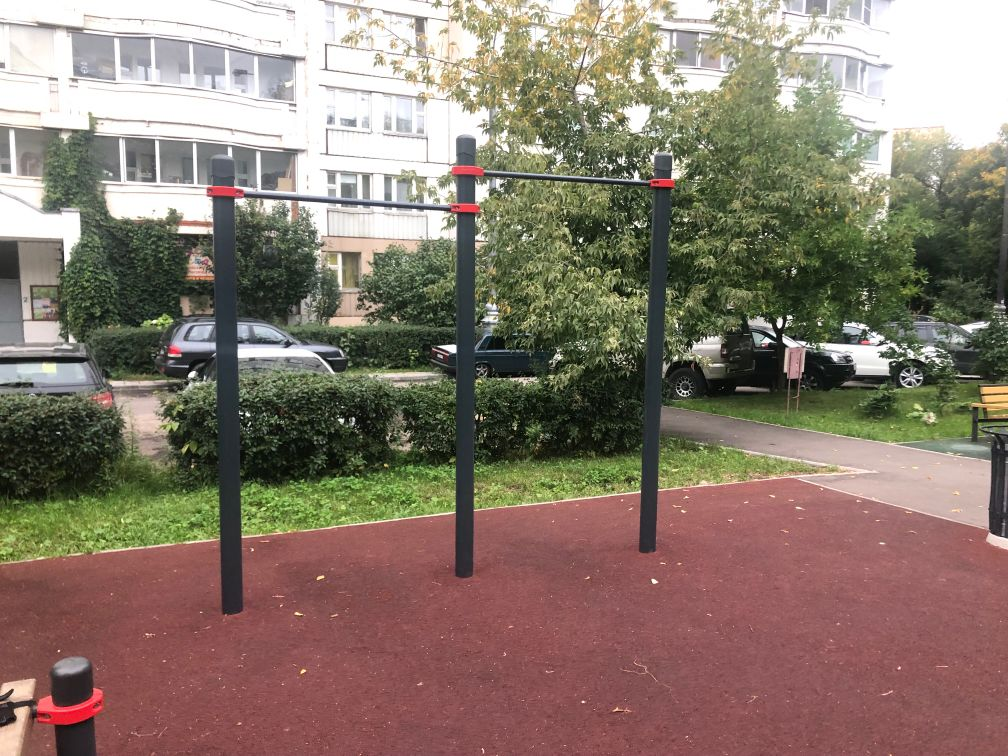 Moscow - Street Workout Park - Улица Столетова