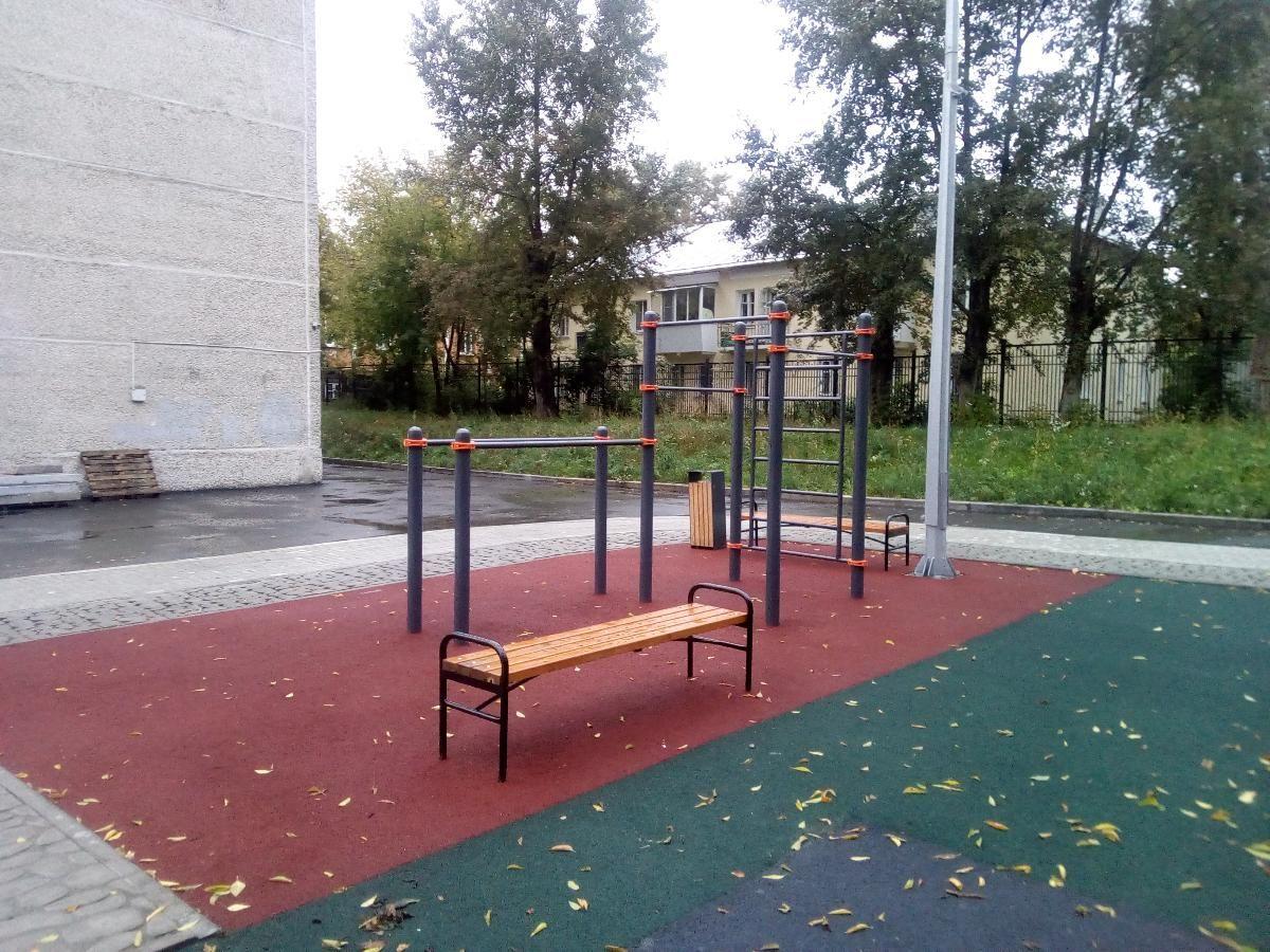 Yekaterinburg - Calisthenics Gym - УрГИ