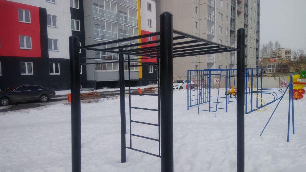 Ozersky - Street Workout Park - ТРК «Фестиваль»