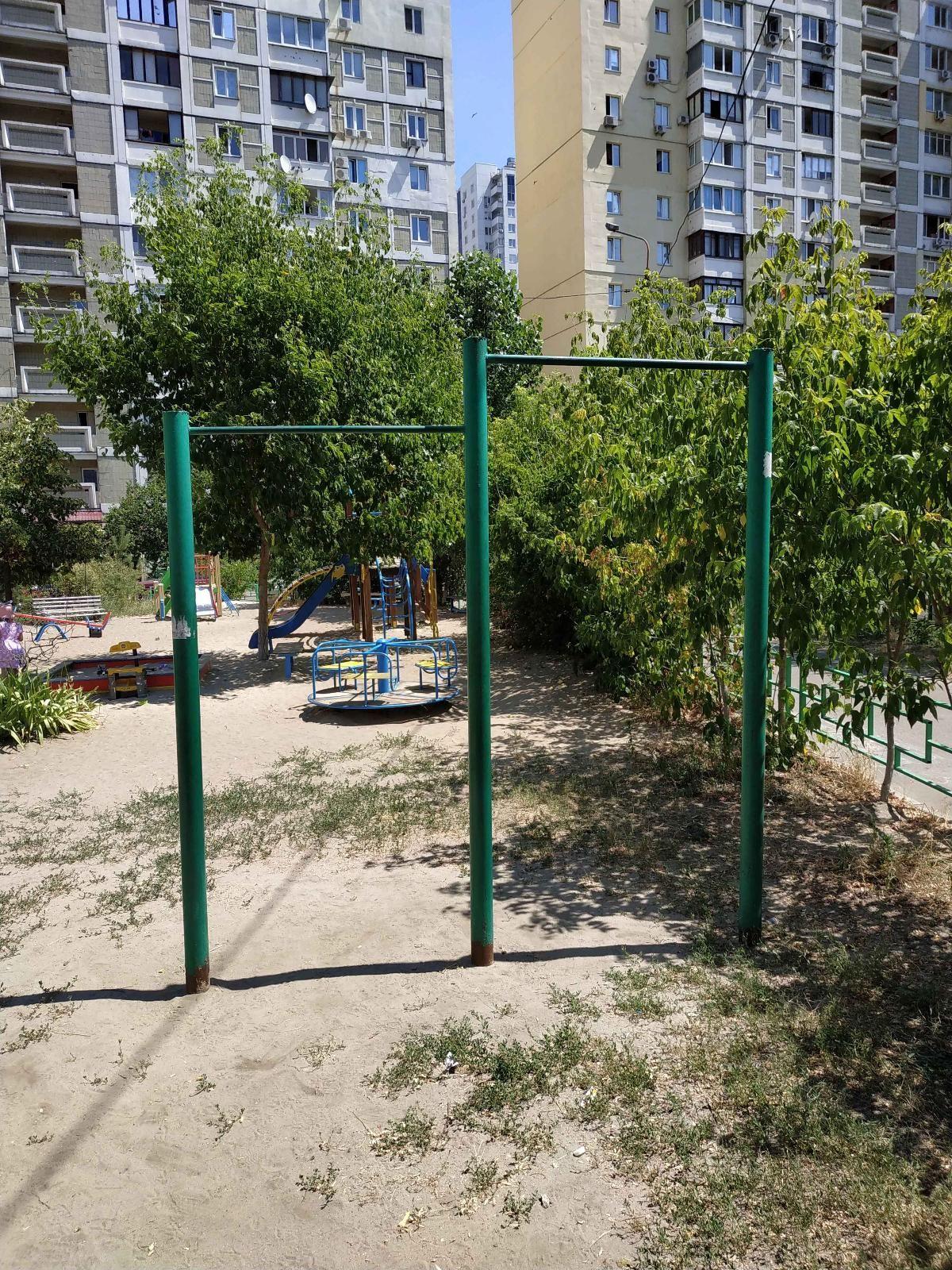Kyiv - Street Workout Park - Срибнокильская 1\2