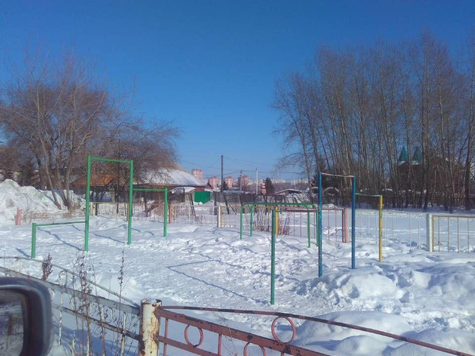 Novosibirsk - Street Workout Park - Улица Москвина
