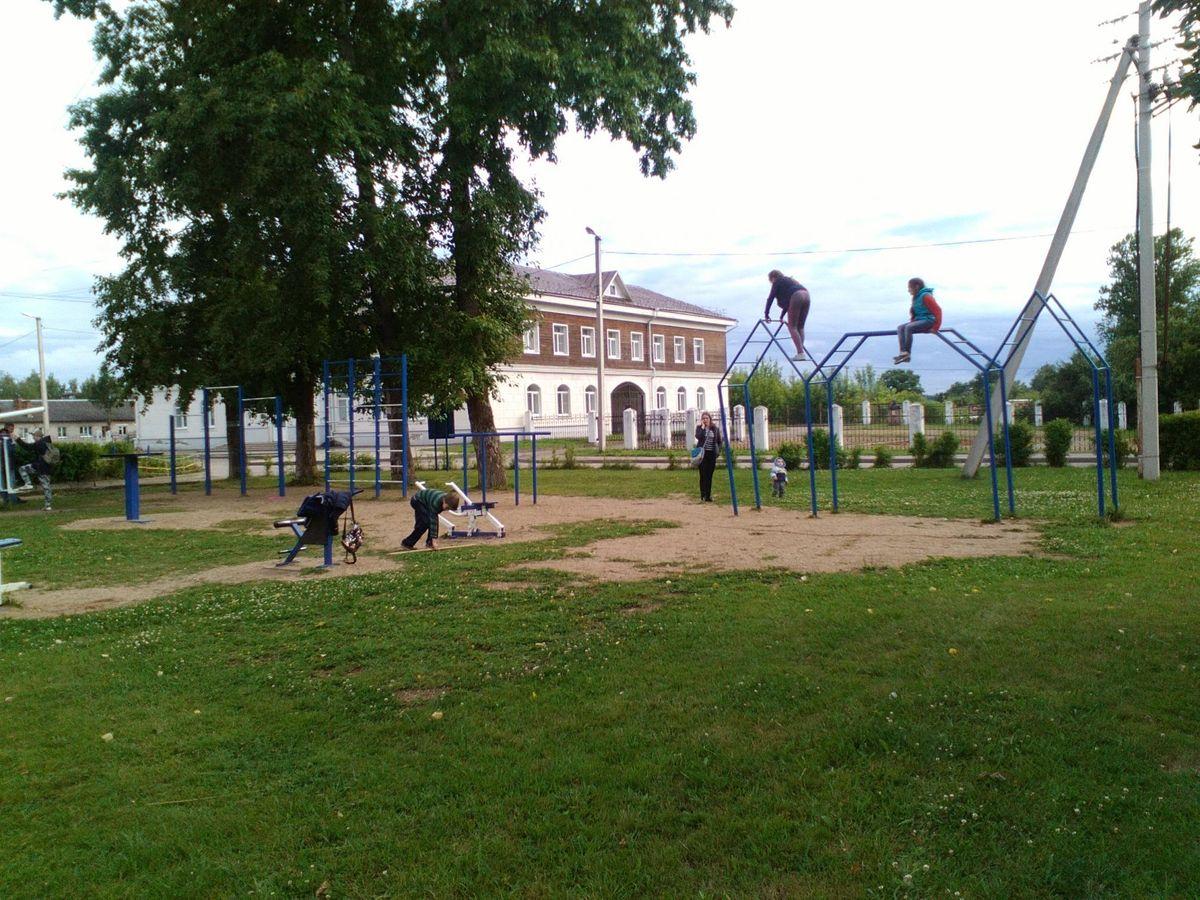 Staritsa - Calisthenics Park - Ильинская Церковь