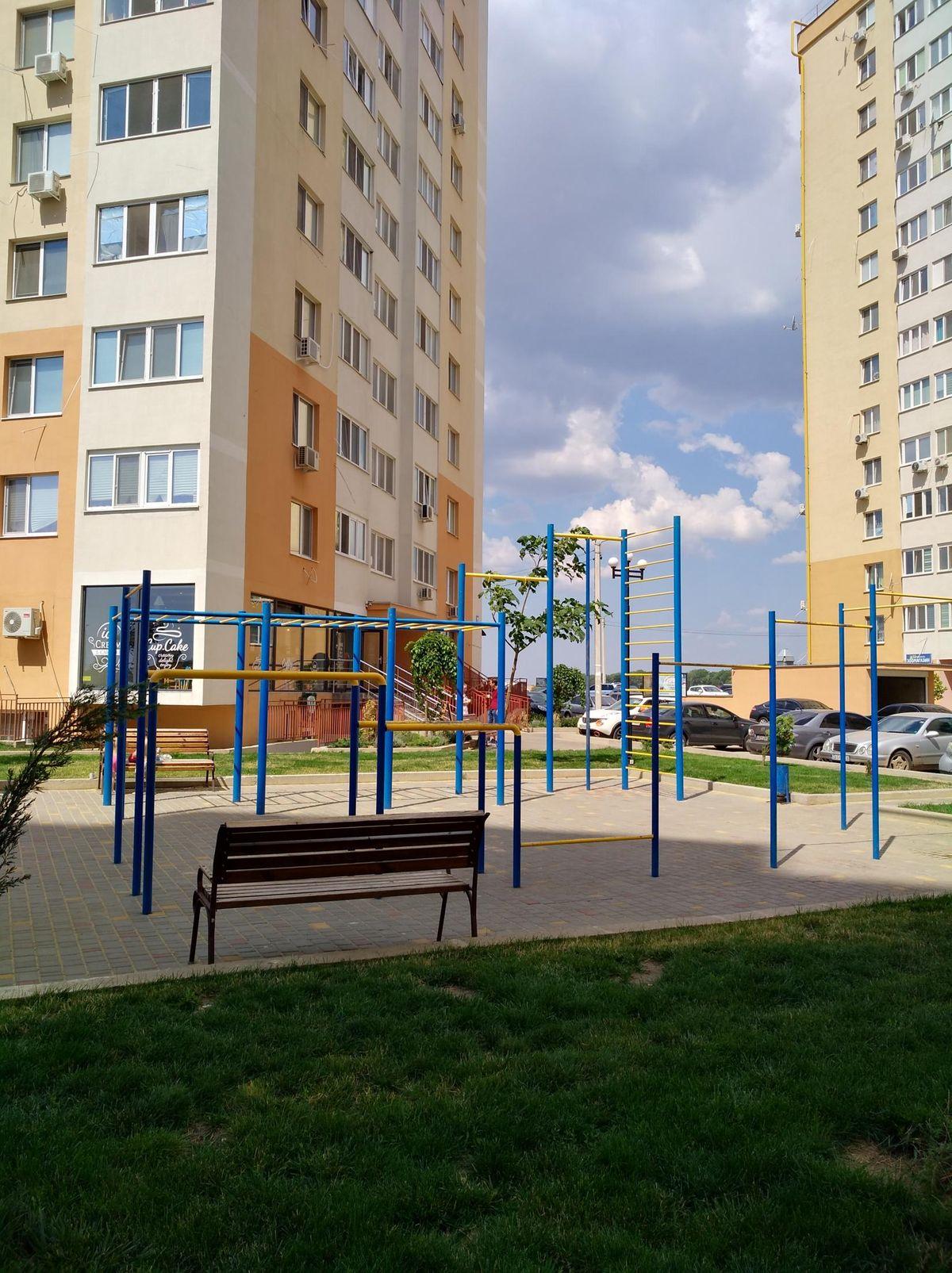 Odessa Oblast - Street Workout Park - ЖМ  Радужный  11/1