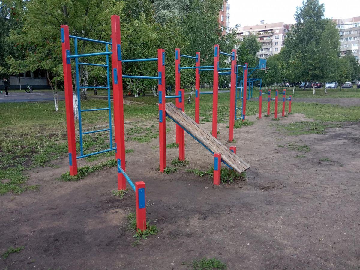 Vitebsk - Calisthenics Park - Улица Чкалова