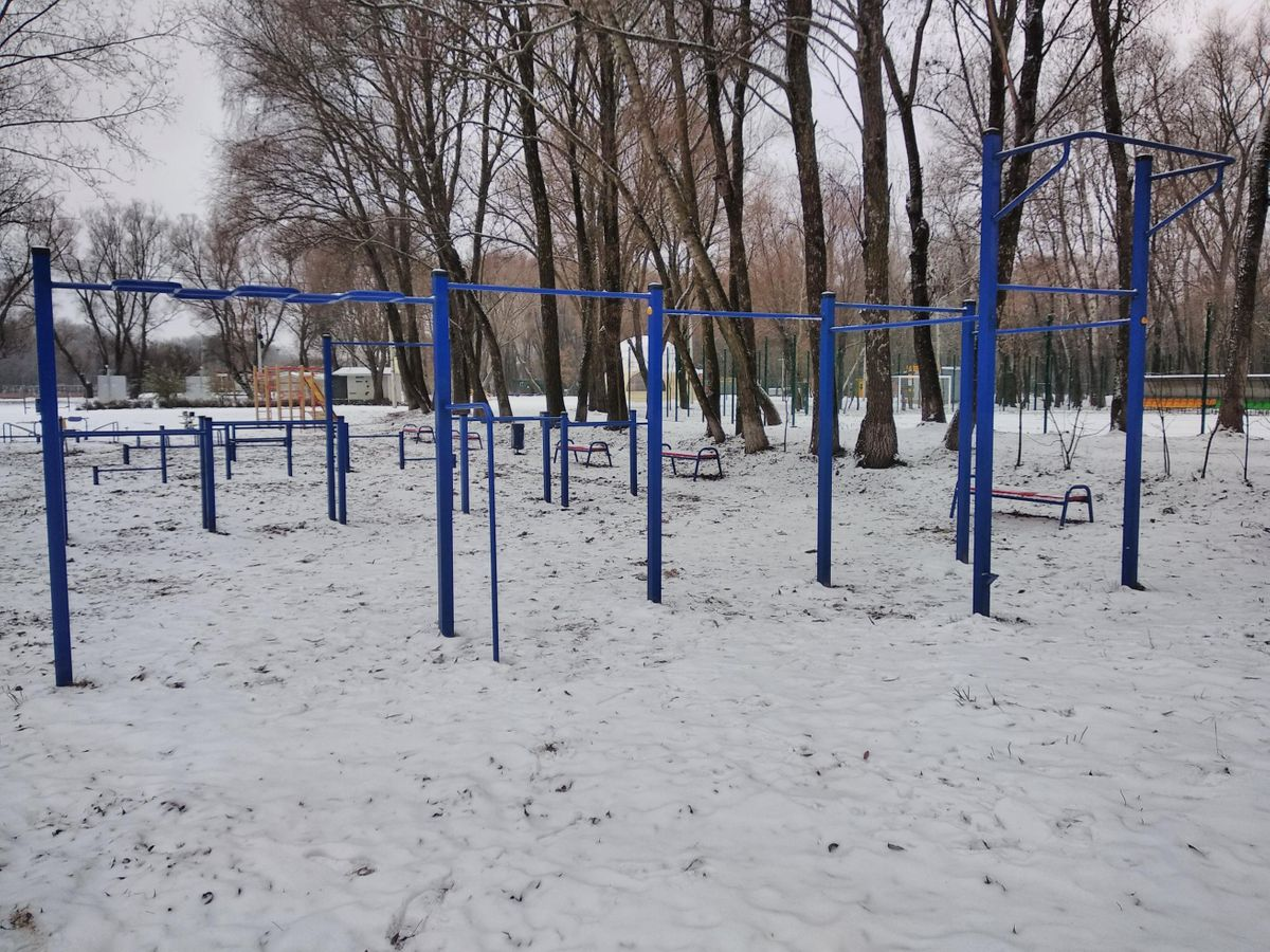 Chernihiv - Calisthenics Park - Золотой Берег