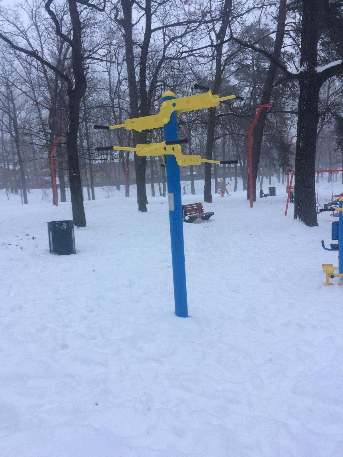 Irpin - Street Workout Park - Верёвочный Парк  ПАНДА
