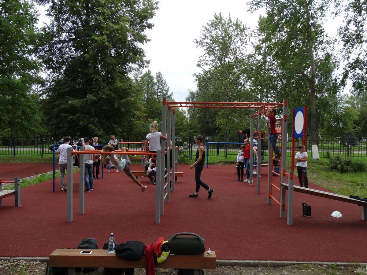 Yegoryevsk - Street Workout Park - Новая Улица