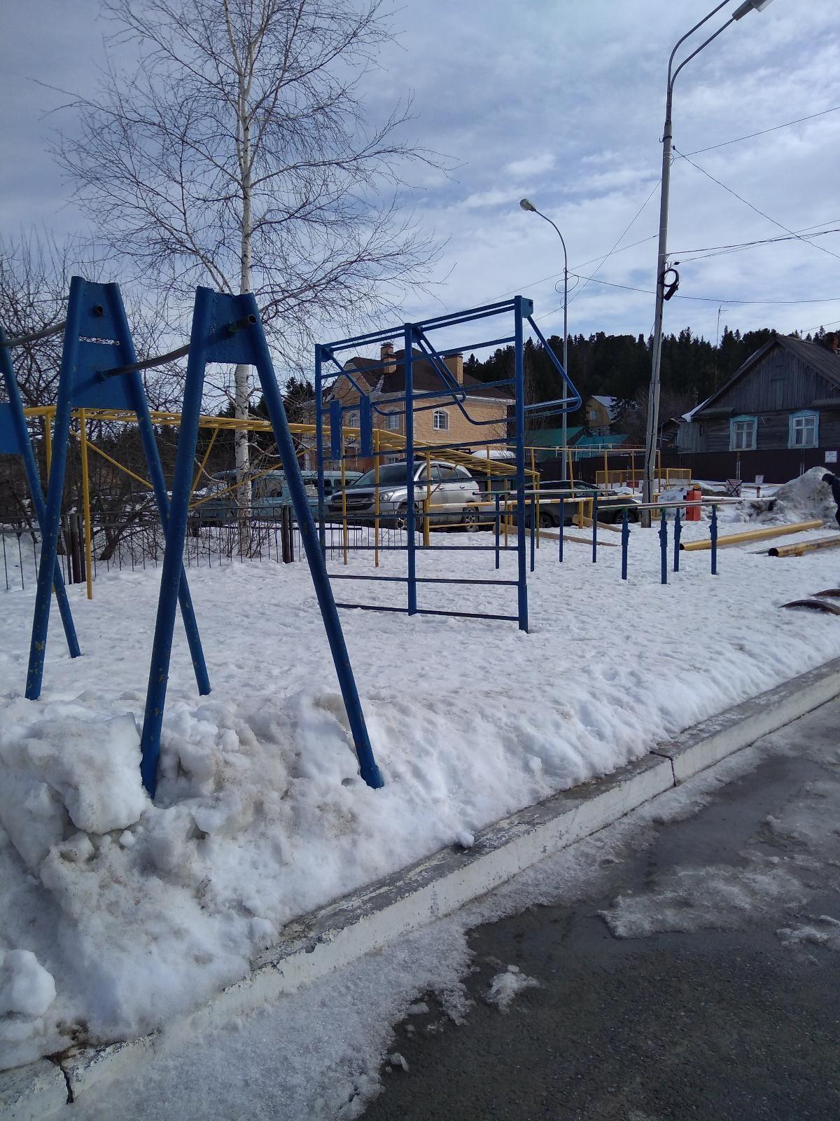 Khanty-Mansiysk - Street Workout Park - Улица Патриса Лумумбы