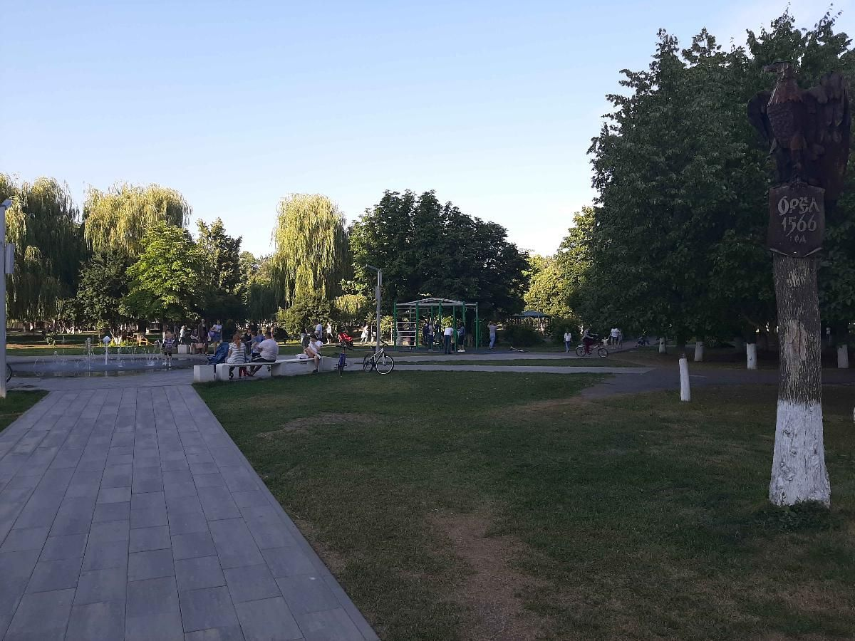 Oryol - Fitness Park - Амфитеатр